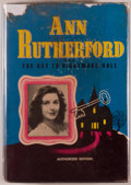 Books:Mystery & Detective Fiction, [Ann Rutherford]. Kathryn Heisenfelt. Ann Rutherford and the Key to Nightmare Hall. An original story featuring AN...