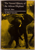 Books:Natural History Books & Prints, Sylvia Sikes. The Natural History of the African Elephant. London: Weidenfeld and Nicolson, 1971. First edition. Lar...