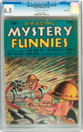 Golden Age (1938-1955):Science Fiction, Amazing Mystery Funnies V2#4 Billy Wright pedigree (Centaur, 1939)CGC FN+ 6.5 Off-white to white pages....