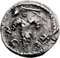 Ancients:Judaea, Ancients: Bar Kokhba Revolt (132 - 135 AD). AR zuz (19mm, 3.27 gm, 2h). ...