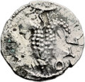 Ancients:Judaea, Ancients: Bar Kokhba Revolt (132 - 135 AD). AR zuz (18mm, 3.15 gm,6h). ...