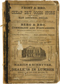 Books:Reference & Bibliography, [San Antonio]. Mooney & Morrison, compilers. Mooney & Morrison's General Directory of the City of San Antonio, For 1877-...