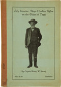 Books:Biography & Memoir, Captain Henry W. Strong. My Frontier Days & Indian Fights onthe Plains of Texas....