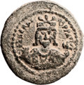 Ancients:Judaea, Ancients: Jerusalem. Heraclius (610 - 641 AD). AE follis (32mm,16.91 gm, 6h). ...