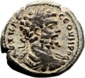 Ancients:Judaea, Ancients: Rabbathmoba, Provincia Arabia. Septimius Severus (193 -211 AD). AE (29mm, 15.00 gm, 12h). ...