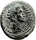 Ancients:Judaea, Ancients: Bostra, Arabia. Antoninus Pius (138 - 161 AD). AE (29 X33mm, 25.88 gm, 12h). ...