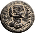 Ancients:Judaea, Ancients: Rabbathmoba, Provincia Arabia. Julia Domna, wifeSeptimius Severus (193 - 211 AD). AE (30mm, 15.42 gm, 12h). ...