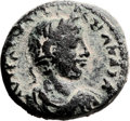 Ancients:Judaea, Ancients: Raphia, Judaea. Severus Alexander (232 - 235 AD). AE(24.5mm, 12.27gm, 12h). ...