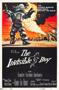 "Movie Posters:Science Fiction, The Invisible Boy (MGM, 1957). MP Graded One Sheet (27"" X 41"")....."