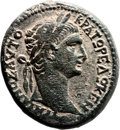 Ancients:Judaea, Ancients: Sepphoris, Galilee. Trajan (98 - 117 AD). AE (25 X 27mm,14.83 gm, 12h)....
