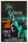 "Movie Posters:Science Fiction, Escape from New York (Avco Embassy, 1981). MP Graded One Sheet (27"" X 41"") Advance.. ..."