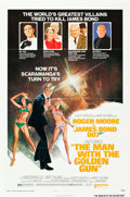 "Movie Posters:James Bond, The Man with the Golden Gun (United Artists, 1974). MP Graded One Sheet (27"" X 41"") . Style B.. ..."