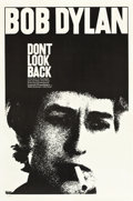 """Movie Posters:Documentary, Don't Look Back (Leacock-Pennebaker, 1967). One Sheet (27"""" X 41"""")....."""