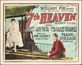 "Movie Posters:Romance, 7th Heaven (Fox, 1927). Title Lobby Card (11"" X 14"").. ..."