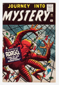 Silver Age (1956-1969):Horror, Journey Into Mystery #64 (Marvel, 1961) Condition: Apparent VF-....