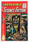 Golden Age (1938-1955):Science Fiction, Incredible Science Fiction #32 (EC, 1955) Condition: FN....