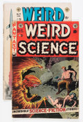 Golden Age (1938-1955):Science Fiction, Weird Science #21/Weird Science-Fantasy #24 Group (EC, 1953-54)....(Total: 2 Comic Books)