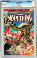 Bronze Age (1970-1979):Horror, Man-Thing #17 (Marvel, 1975) CGC NM 9.4 White pages....