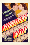 "Movie Posters:Musical, Flirtation Walk (First National, 1934). One Sheet (27"" X 41"") StyleB.. ..."