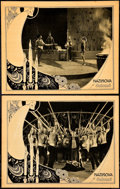 "Movie Posters:Drama, Salome (United Artists, 1923). Lobby Cards (2) (11"" X 14"").. ...(Total: 2 Items)"