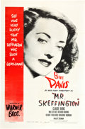 "Movie Posters:Romance, Mr. Skeffington (Warner Brothers, 1944). One Sheet (27"" X 41"")....."