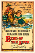 """Movie Posters:Western, Bend of the River (Universal International, 1952). One Sheet (27"""" X 41"""").. ..."""