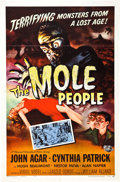 """Movie Posters:Science Fiction, The Mole People (Universal International, 1956). One Sheet (27"""" X41"""").. ..."""