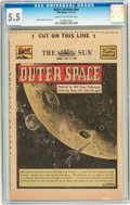 Golden Age (1938-1955):Science Fiction, The Spirit (weekly newspaper insert) #7/27/52 (Various, 1952) CGCFN- 5.5 Cream to off-white pages....