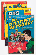 Silver Age (1956-1969):Adventure, Mr. District Attorney and Others Crime Comics Group (DC, 1950s).... (Total: 8 Items)