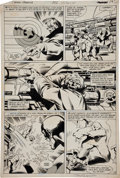 Original Comic Art:Panel Pages, John Byrne and Joe Rubinstein Captain America #252 Page 14Original Art (Marvel, 1980)....