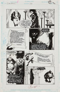 Original Comic Art:Panel Pages, Kelley Jones and George Pratt Sandman #26 Page 17 OriginalArt (DC, 1991)....