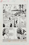 Original Comic Art:Panel Pages, Kelley Jones and Dick Giordano Sandman #27 Page 1 OriginalArt (DC, 1991)....