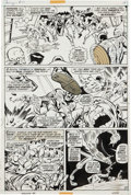 Original Comic Art:Panel Pages, John Buscema and Tom Palmer The Avengers #97 Page 10Original Art (Marvel, 1972)....