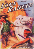Pulps:Western, The Lone Ranger Magazine #3 (Trojan Publishing, 1937) Condition: FN-....
