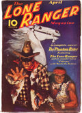 Pulps:Western, The Lone Ranger Magazine #1 (Trojan Publishing, 1937) Condition: FN-....