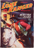 Pulps:Western, The Lone Ranger Magazine #6 (Trojan Publishing, 1937) Condition: FN-....