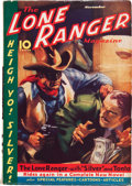 Pulps:Western, The Lone Ranger Magazine #8 (Trojan Publishing, 1937) Condition: FN-....