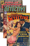 Pulps:Detective, Assorted Detective Pulps Group (Various, 1937-42) Condition: Average FN-.... (Total: 3 )