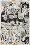 Original Comic Art:Panel Pages, Barry Smith Conan the Barbarian #15 Elric Page 4 OriginalArt (Marvel, 1971)....