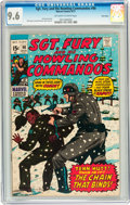 Bronze Age (1970-1979):War, Sgt. Fury and His Howling Commandos #90 Twin Cities pedigree (Marvel, 1971) CGC NM+ 9.6 Off-white to white pages....