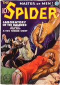 Pulps:Hero, The Spider - July 1936 (Popular, 1936) Condition: FN-....