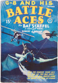 Pulps:Hero, G-8 and His Battle Aces V1#1 (Popular, 1933) Condition: FN-....