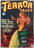 Pulps:Horror, Terror Tales #1 (Popular, 1934) Condition: VG/FN....