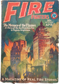 Fire Fighters V1#2 (Magazine Publishers Inc., 1929) Condition: VG+
