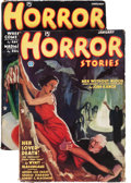 Pulps:Horror, Horror Stories #1 and 2 Group (Popular, 1935) Condition: AverageVG/FN.... (Total: 2 )