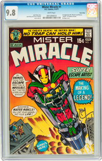 Mister Miracle #1 Twin Cities pedigree (DC, 1971) CGC NM/MT 9.8 White pages