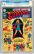 Silver Age (1956-1969):Superhero, Action Comics #373 Supergirl - Twin Cities pedigree (DC, 1969) CGC NM+ 9.6 Off-white to white pages....
