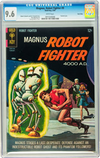 Magnus Robot Fighter #9 Twin Cities pedigree (Gold Key, 1965) CGC NM+ 9.6 White pages