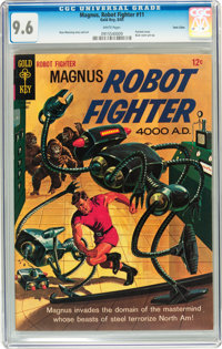 Magnus Robot Fighter #11 Twin Cities pedigree (Gold Key, 1965) CGC NM+ 9.6 White pages