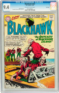 Silver Age (1956-1969):Adventure, Blackhawk #202 Twin Cities pedigree (DC, 1964) CGC NM 9.4 Off-white to white pages....